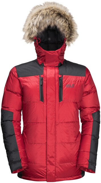 Jack Wolfskin The Cook Parka Daunenjacke Red Lacquer   M